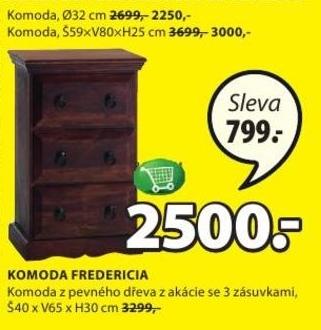 Fredericia Komoda V Akci Jysk Od 2912015