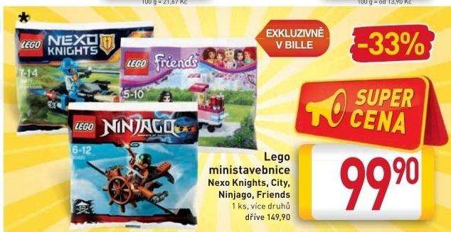 Lego Mini Nexo Knights V Akci Billa Od 2712016