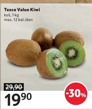Kiwi Tesco Value