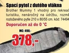 Spací pytel Brother Mummy 1