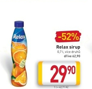Sirup Relax