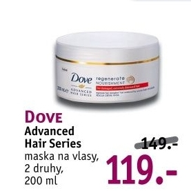 Maska na vlasy Advanced Hair Series Dove
