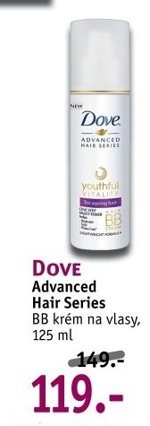 Krém BB Advanced Hair Series Dove