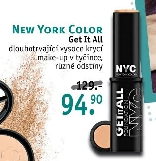 Make up v tyčince Get it all NYC