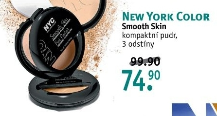 Pudr kompaktní Smooth skin NYC