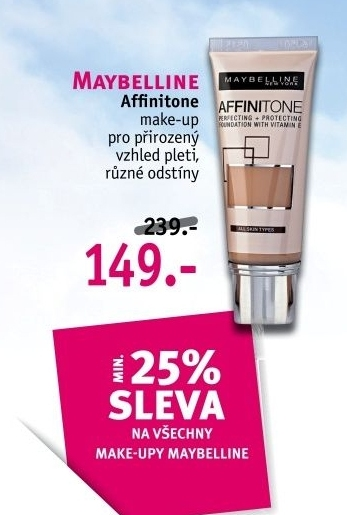 Make up Affinitone Maybelline