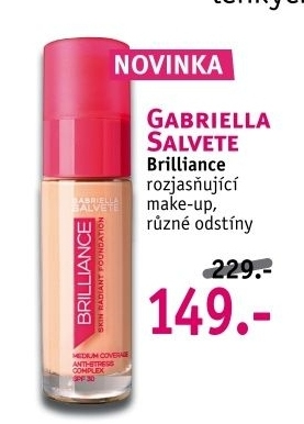 Make up Brilliance Foundation Gabriella Salvete