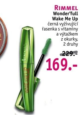 Řasenka Wake Me Up Rimmel