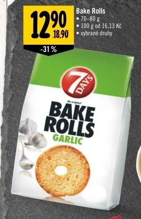 Krekry Bake rolls 7 Days