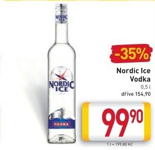 Vodka Nordic Ice