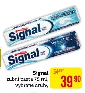 Pasty na zuby Signal