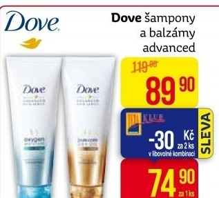 Šampon Advanced Hair Series Dove