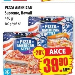 Pizza American Style