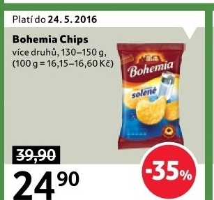 Chipsy Bohemia Chips