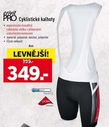 Dámské cyklistické MTB šortky Crivit Cyklistická obuv Crivit Pánské  cyklistické kalhoty Crivit Pro ... 4018e9486b