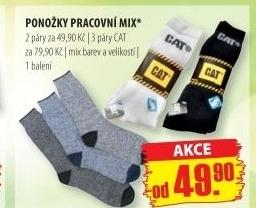 60ac8c6d47d Pánské pracovní ponožky Cat v akci Penny Market od 28.7.2016