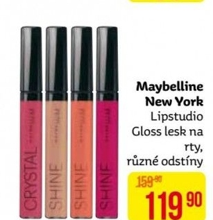 Lesk na rty Lip Studio gloss Maybelline
