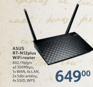 Router Asus RT N12