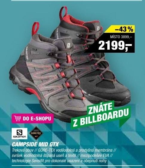 Dámská outdoorová obuv Hatos Low Salomon v akci Hervis od