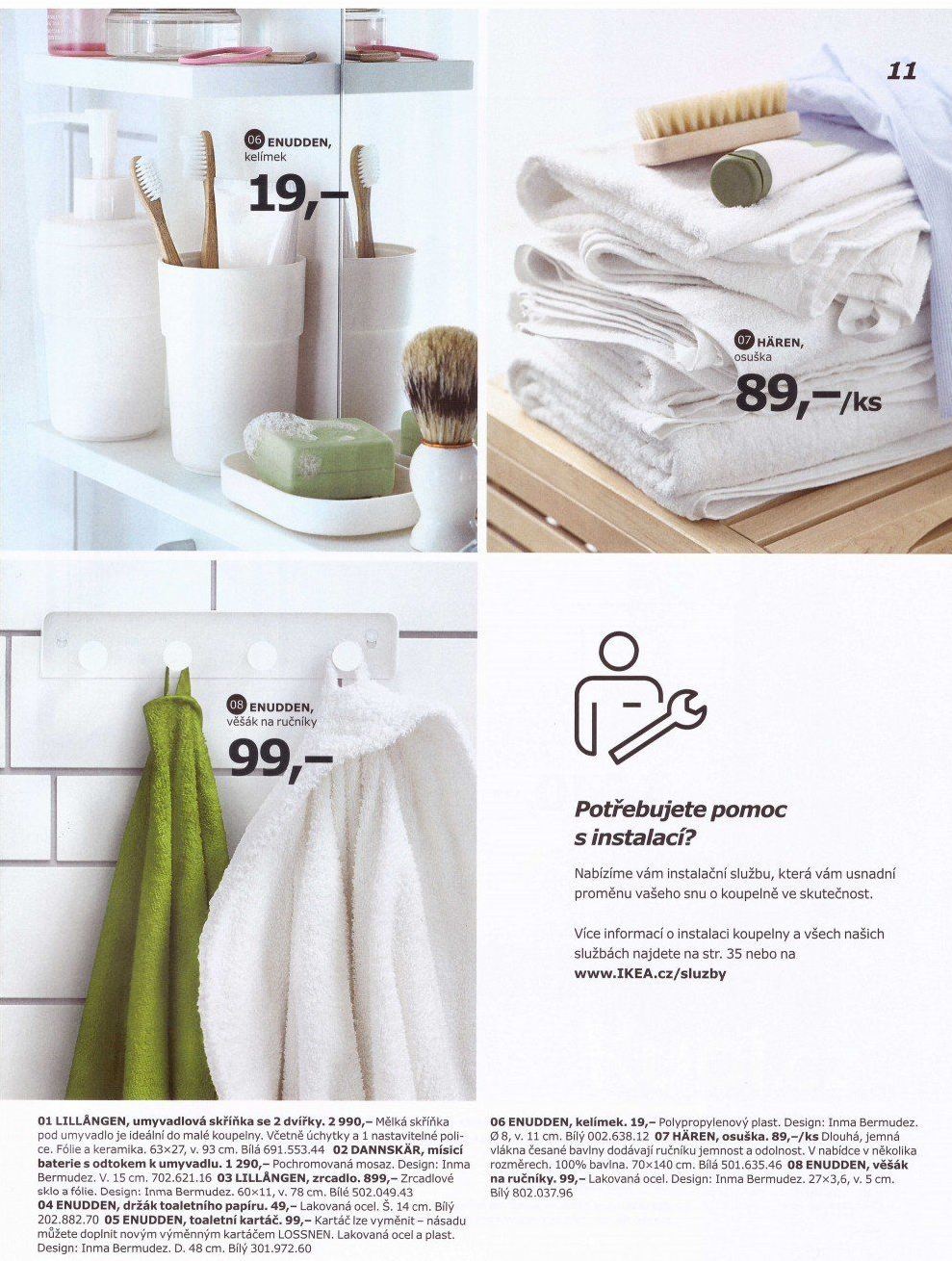 ikea let k od 1 katalog koupelny 2017 999 18. Black Bedroom Furniture Sets. Home Design Ideas