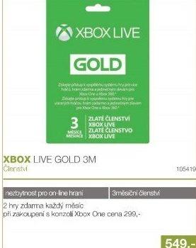 Karta Xbox Live.Xbox Live Gold Karta V Akci Electro World Od 6 7 2017