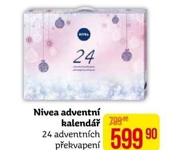 nivea adventni kalendar Adventní kalendář s kosmetikou Nivea v akci Teta drogerie od 12.10  nivea adventni kalendar