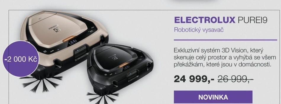 electrolux pure i9. robotický vysavač electrolux pi91 pure i9 r