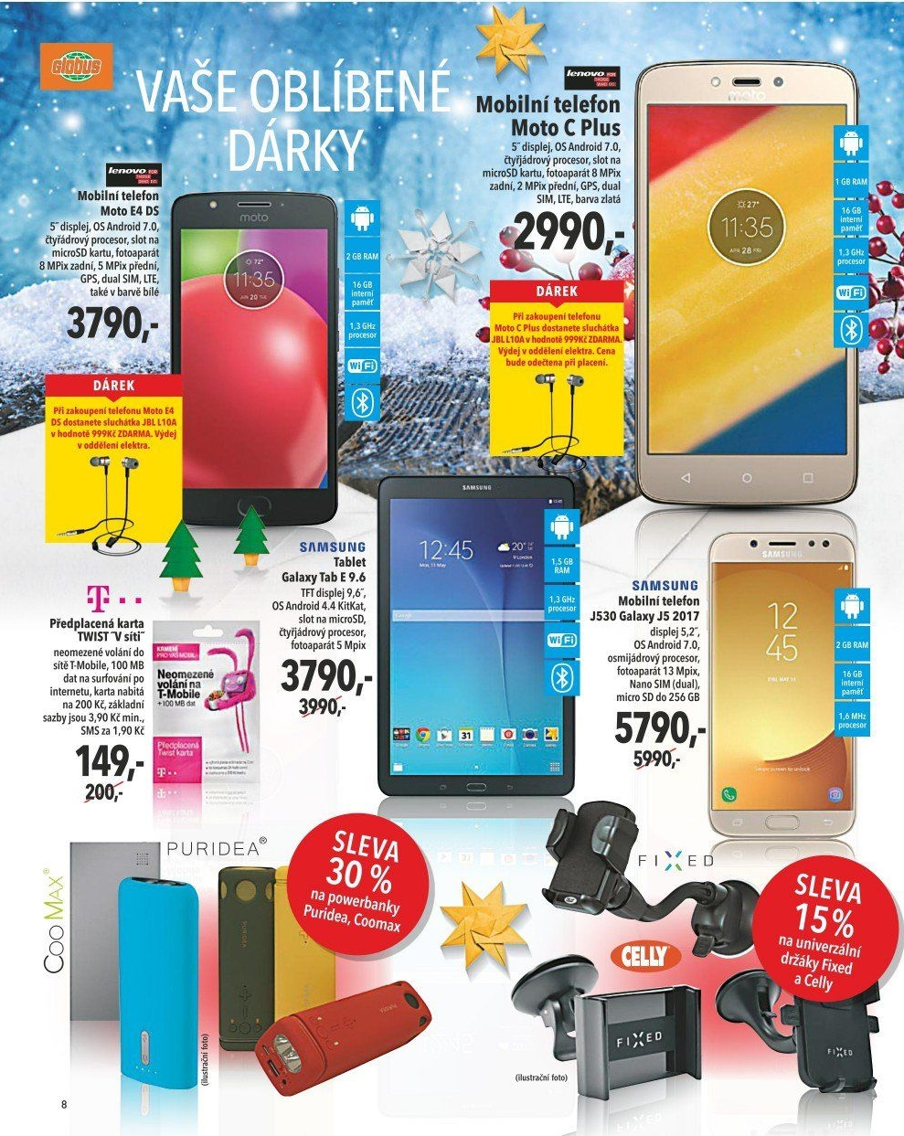 Sim Karta T Mobile V Akci Globus Od 7 12 2017