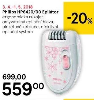 Epilátor Philips HP6420 00 v akci Tesco od 18.4.2018 8d348682f6