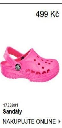 74f41499aee ... sandály Cupcake Couture Dětské gumové nazouváky Crocs ...