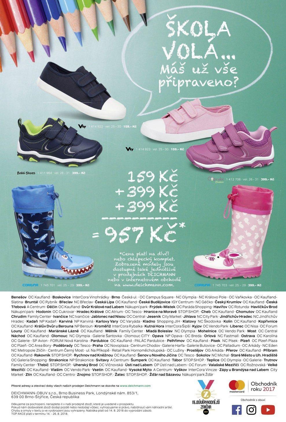 c894b277bd Dětská plátěná obuv Victory v akci DEICHMANN od 14.8.2018