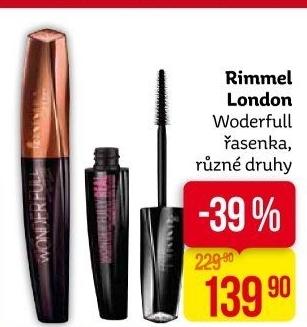 55193f828f8 Řasenka Total Temptation Maybelline Lak na nehty L'Oréal Skleněný pilník na  nehty Řasenka Wonder'full Rimmel ...