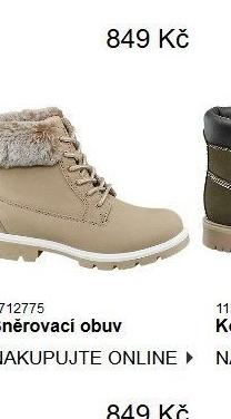 1c8f24e37f Dámská zimní kotníková obuv Vty v akci DEICHMANN od 2.11.2018