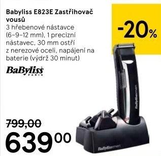 Zastřihovač vousů BaByliss E823E v akci Tesco od 7.12.2018 212d2dd193f